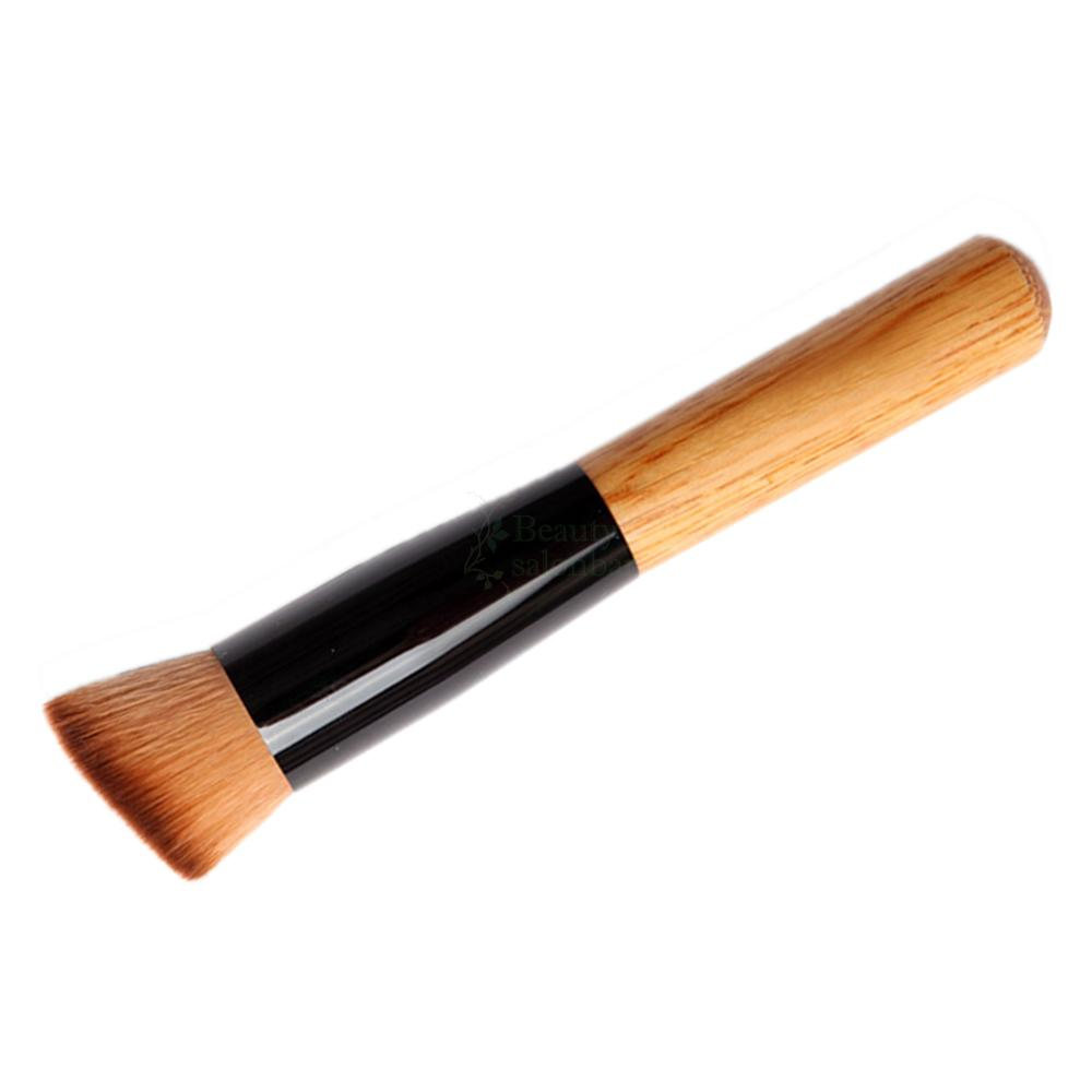 how to clean foundation brush