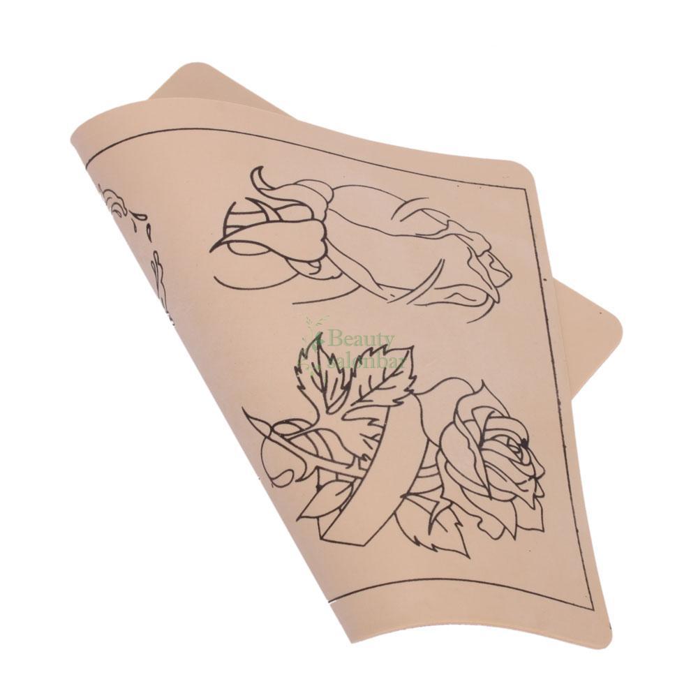 new beginner tattoo practice skin rose design for machine supply needle b 68 ebay. Black Bedroom Furniture Sets. Home Design Ideas