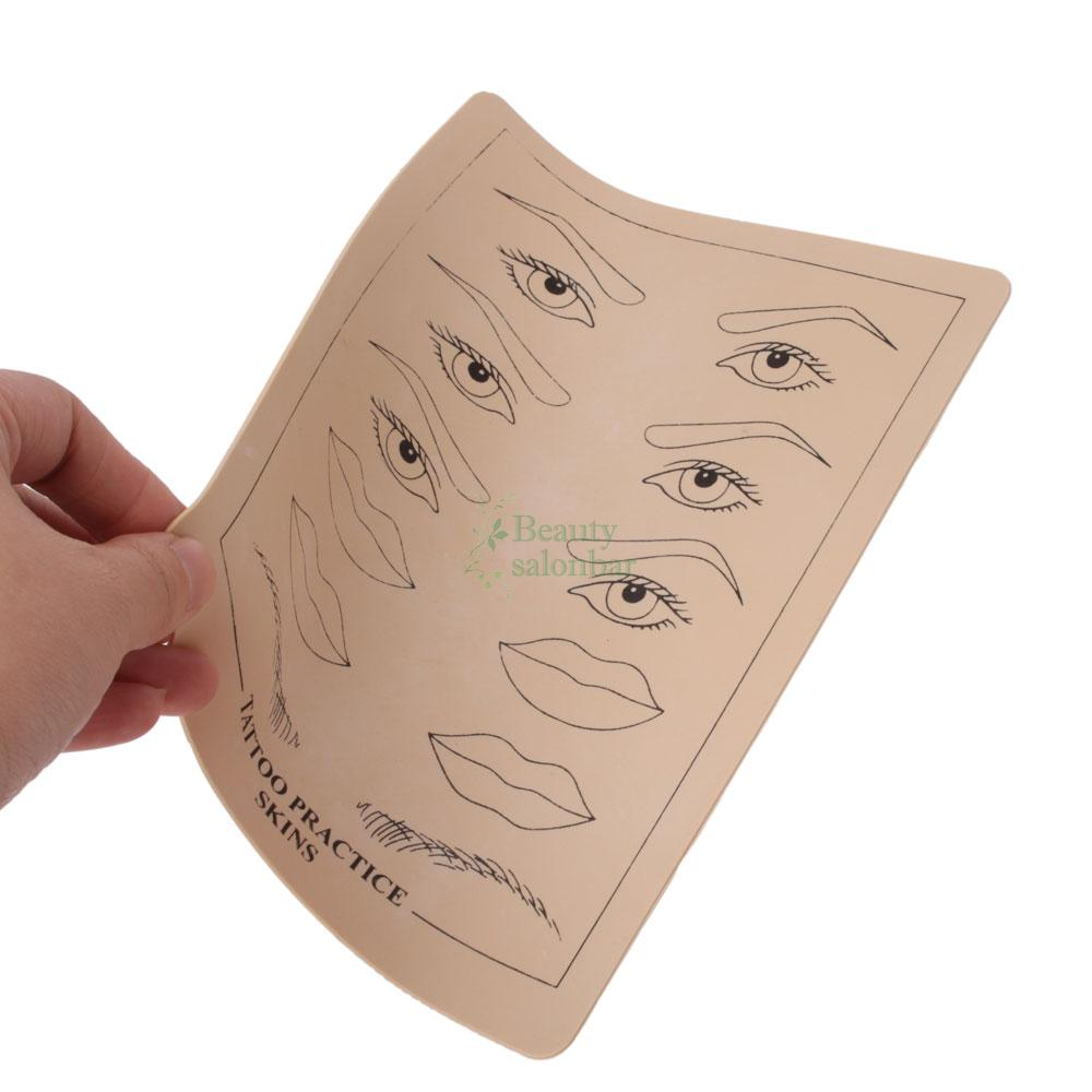 5pcs tattoo practice skin for needle machine supply for Practice skin for tattooing